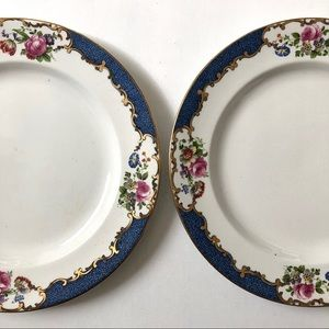 Other - 2 Vintage Salad Plates by Booths England